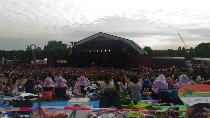 ジョインアライブメインステージの風景