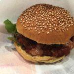 ハングリーバーガーのハンバーガー
