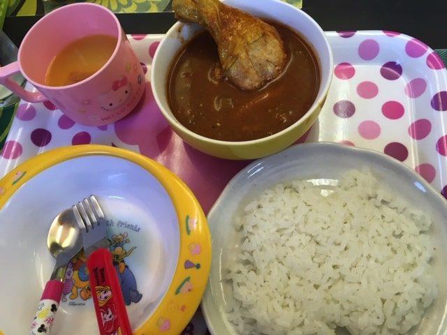札幌カリーぱおのキッズスープカレー