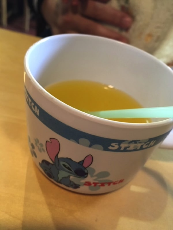 麺屋 海猫のサービスジュース